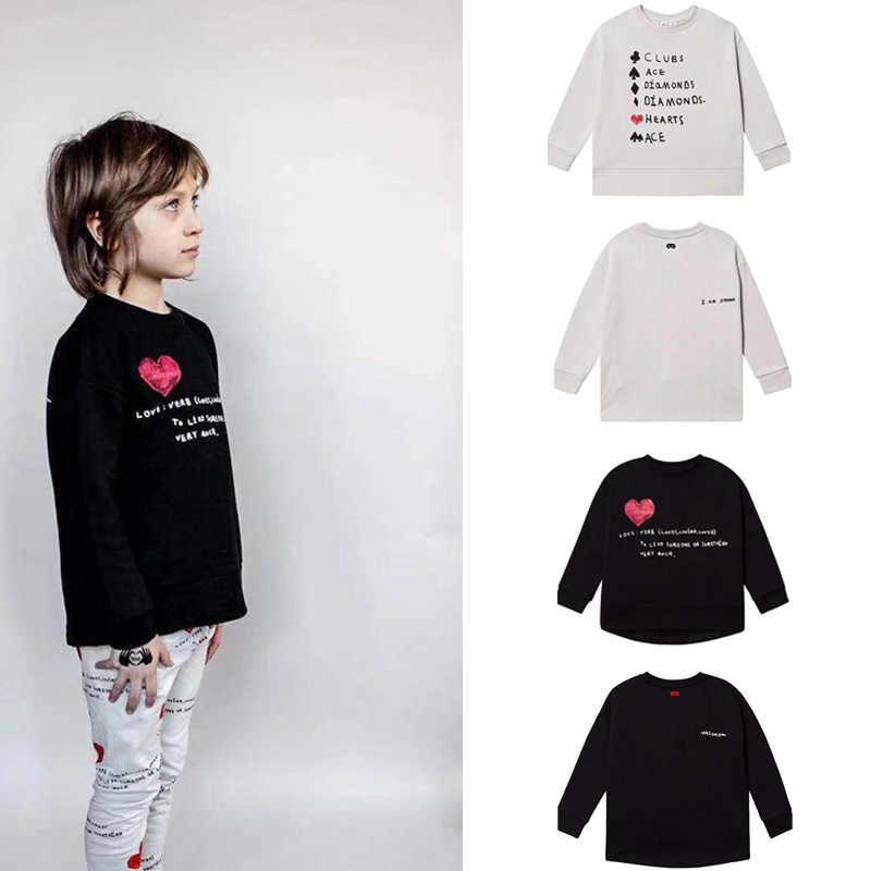 Beau Yêu 2019 Trẻ Em Mùa Đông Áo Nỉ Bé Trai Áo Nỉ Cho Bé Áo Khoác Nữ Hoodie Kid Quần Áo Trẻ Em Quần Áo Trước Đặt Hàng 9.5