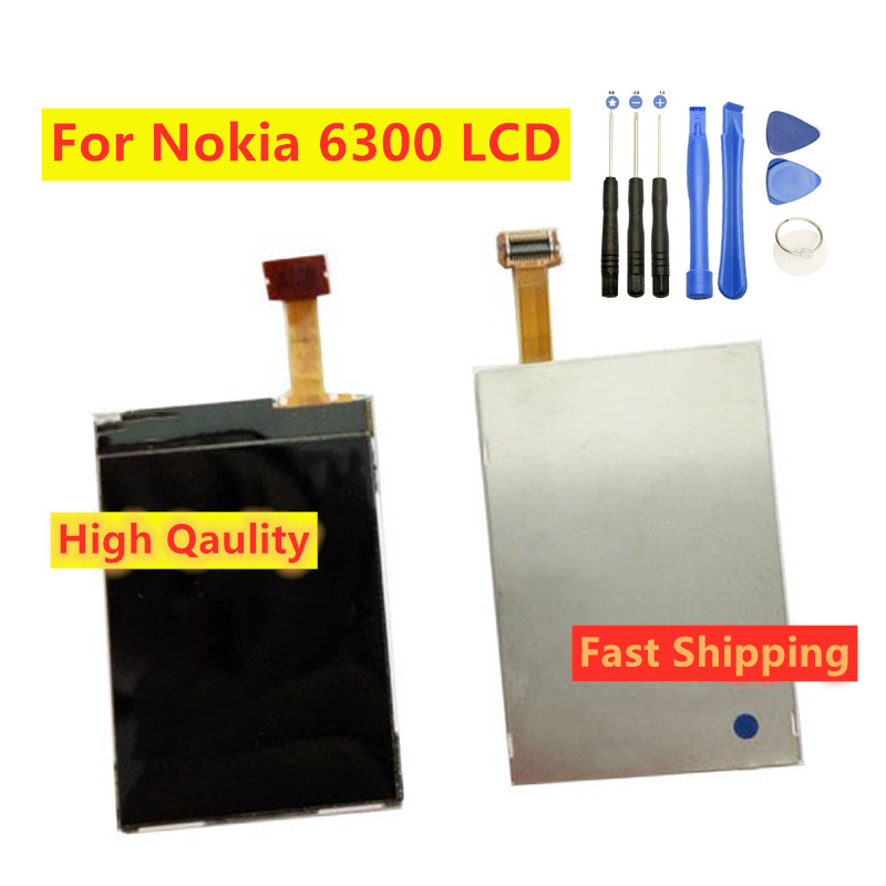 For Nokia 6300 6555 5320 5310 7500 6500c LCD Screen Display Replacement Repair Parts image