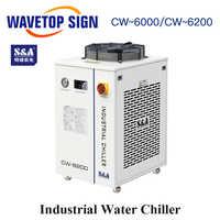 WaveTopSign S&A CW-6000AH CW-6200AH CW-6200BI industria aire enfriador de agua uso para 300W 600W Co2 láser de tubo de vidrio ENFRIADORES DE AGUA