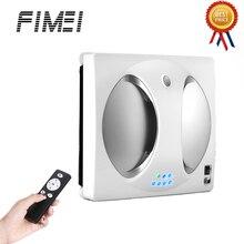 Fimei WS-960 умный робот пылесос для окон автоматическая очистка стекла 2800 PA высокое всасывание анти-падение пульт дистанционного управления