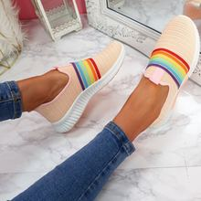Модные Женские кроссовки размера плюс повседневная женская обувь