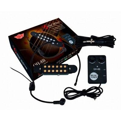 Звукосниматель (пьезодатчик) для акустических гитар GH QH-8B peavey pvi 8b plus