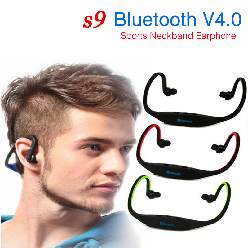 2020 new <font><b>S9</b></font> Plus <font><b>Bluetooth</b></font> headset sports wireless headset supports TF / SD card music headset for Xiaomi Apple Android Huawei image
