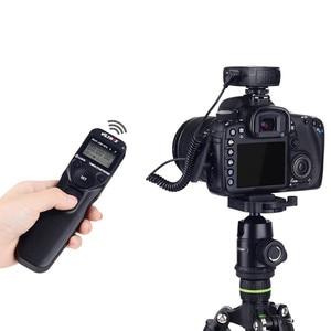 Image 5 - Viltrox JY 710 Camera Draadloze Timer Afstandsbediening Ontspanknop Voor Canon 5 Diii 6D2 Nikon D810 Panasonic GH5 G10 Sony a9 A7M