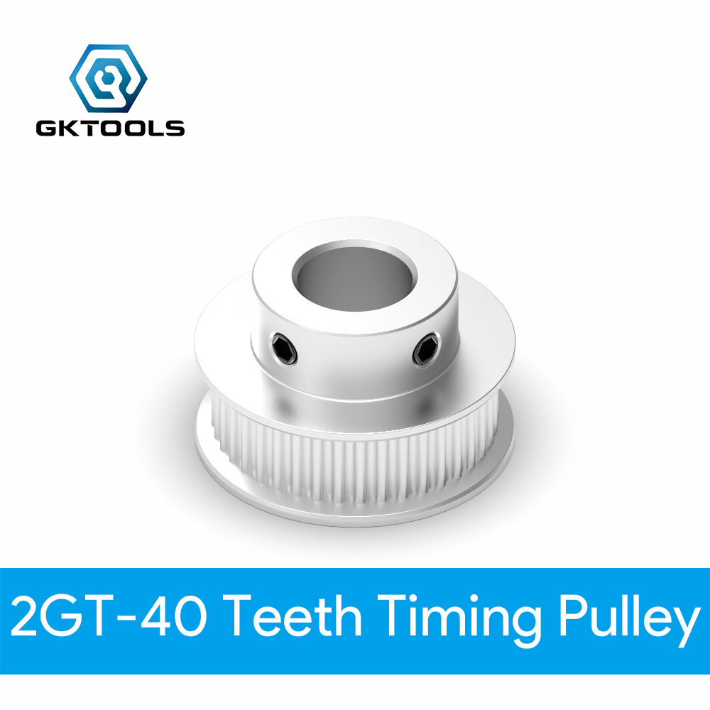 <font><b>40</b></font> zähne <font><b>GT2</b></font> Timing <font><b>Pulley</b></font> Bohrung 5mm 6mm 6,35mm 8mm 10mm für gürtel verwendet in linear 2GT <font><b>pulley</b></font> <font><b>40</b></font> Zähne 40T image
