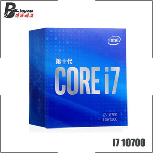 Intel Core i7-10700 i7 10700 2.9 GHz Eight-Core 16-Thread CPU Processor L2=2M L3=16M 65W LGA 1200 Sealed and come with the fan