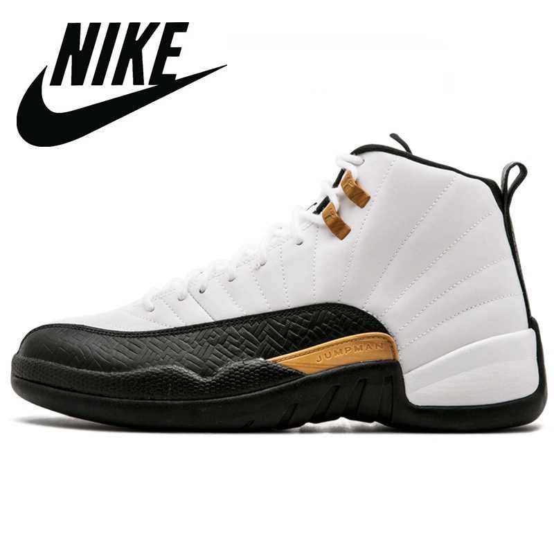 Zapatillas Nike Air Jordan 12 Retro para hombre, negras ...