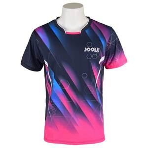 Оригинальная одежда для настольного тенниса Joola для мужчин и женщин, футболка с коротким рукавом, рубашка, Джерси для пинг-понга, спортивные ...
