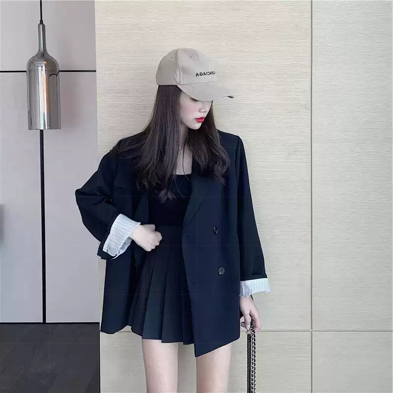 Early Autumn Clothing 2019 New Style Korean-style Western Style Online Celebrity By Age Graceful Suit Hyuna-Style Two-Piece Set