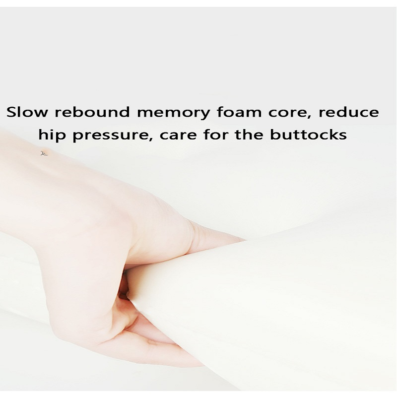1PC U Shapde Coccyx Short Plush Fabric Slow Rebound Memory Foam Beautiful Buttocks Cushion Stay Away From Acne Cushion Portable in Cushion from Home Garden