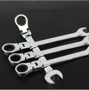 Image 5 - Flexible Head Combination Ratchet  Wrench Dual use Ratchet Wrench  tools
