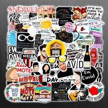10/30/50Pcs/set Cartoon Schitt's Creek TV series Waterproof Stickers Vinyl Laptop Luggage Decals Graffiti Decor Kids Scrapbook