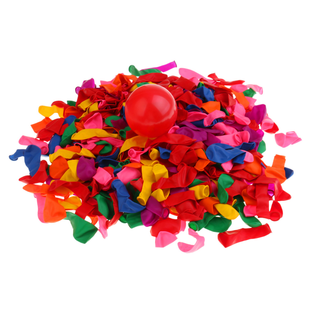 500 Pieces/Pack Multi-colored Dart Balloons  Carnival Fun Party Decors