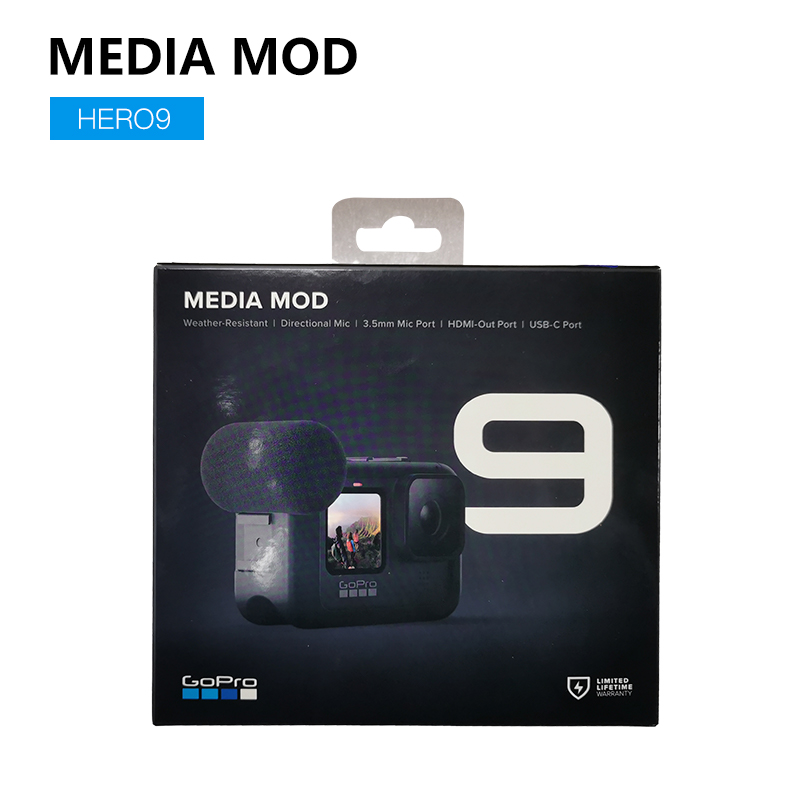 GOPRO HERO9 Black Camera Media Mod Offcial Accessory(FRAME ONLY