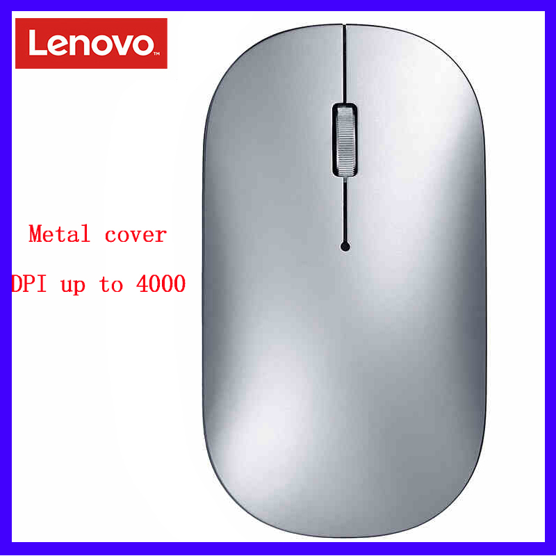 Lenovo Xiaoxin Air Mouse 2019 New Wireless(Bluetooth) Dual-Mode With 4K DPI Support Offical Verification For Windows7 8 10, Mac