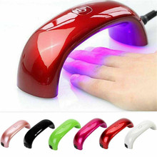 Portable Mini 9W UV Nail Lamp For Nails Dryer Gel Curing Polish USB LED Lamp Nail Dryer For Manicure Curing Lamp Machine Tools