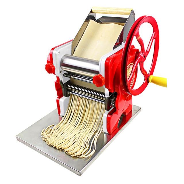 manual dough press machine noodle machine pasta machine stainless steel pasta machine commercial 18cm noodle roll width