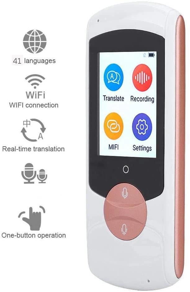 41 Languages WIFI Smart Translator Real Time Voice Translation Pocket Device