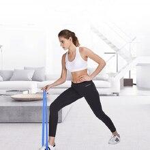 5 цветов, Эспандеры для йоги, 5-уровневая резиновая тренировочная веревка для занятий спортом, пилатеса, экспандер для фитнеса, резинки, тренажерного зала, тренировочное оборудование