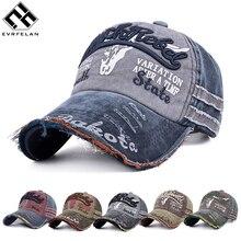 Evrfelan, Модная Джинсовая бейсболка, s, Женская Хип-хоп кепка, s, с дырками, с буквами, кепка для мужчин, для улицы, для папы, кепка, регулируемая, унисекс