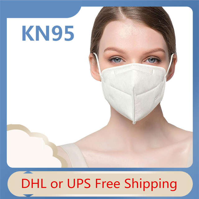 High Quality KN95, N95 Mask Protective Mouth Face Masks 95% Filtration Anti-Dust Against Droplet flu Free Shipping DHL In stock 4