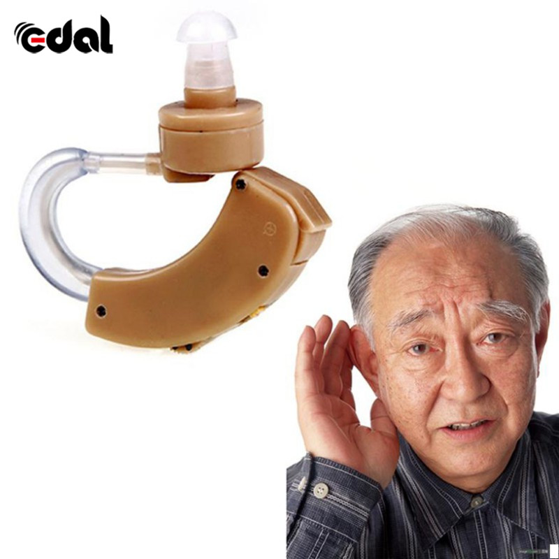 Hearing Aid Portable Hearing Aid Tone Hearing Aid Kit Behind Amplifier Sound Adjustable Device, Maximum Sound 130 u00b1 5dB