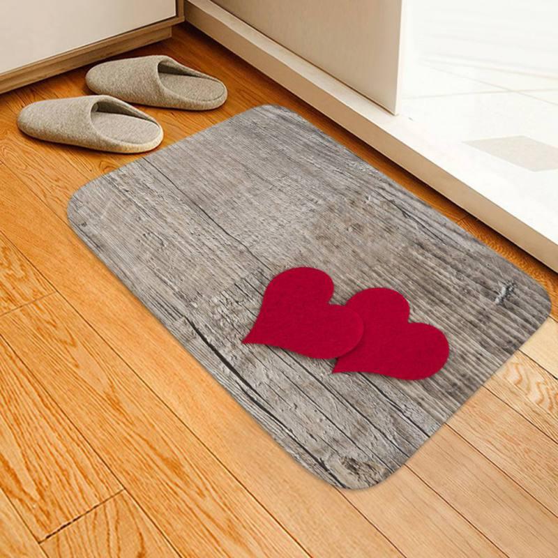 Multi Styles Creative Europe Type 3D Printing Carpet Hallway Doormat Anti - Slip Bathroom Carpet Absorb Water Kitchen Mat/Rug