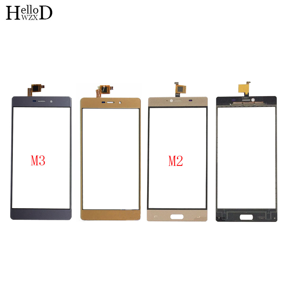Mobile Touch Screen Digitizer Panel For Elephone M2 M3 Touch Screen TouchScreen Front Glass Lens Sensor 3M Glue