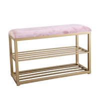Shoe change stool can sit adult household small stool multifunctional fitting room storage sofa stool storage artifact