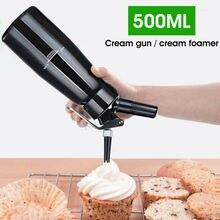 Cream-Dispenser Dessert-Tools Whipper-Maker Stainless-Steel 500-Ml Professional Brand-New