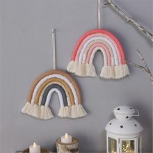 Nordic Room Rainbow Hanging Decoration Rainbow Wall Hanging Decor Scandinavian Room Decoration Accessories Room Decor