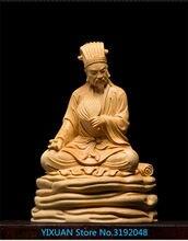 Allado en caja, madera maciza creativa, sala de estar, decoração do coche, tallado, artesanías, personas, ¡zhu geliang