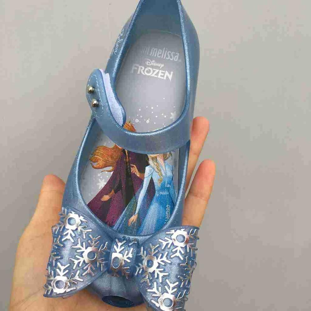 Mini Melissa Ultragirl Frozen Jelly Shoes Soft Melissa Girls Sandals