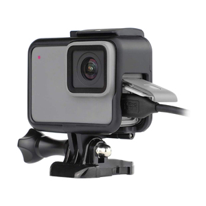 Image 1 - עבור GoPro 7 אבזר ערכת הגנת מסגרת עדשה + LCD מסך מזג זכוכית סרט עבור ללכת פרו גיבור 5 6 7 פעולה מצלמה