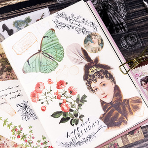 Image 4 - 5 סט Kawaii מכתבים מדבקות ויג יד יומן מתכנן דקורטיבי נייד מדבקות רעיונות DIY קרפט מדבקות