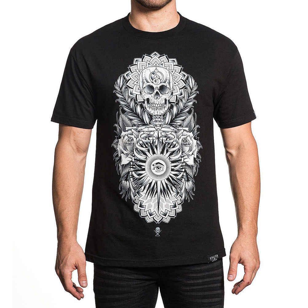 Sullen mannen Joseph Haefs T Shirt Zwart Tee Kleding Kleding Hip Hop Kleding Katoen Korte Mouw T-shirt Jas Kroatië lederen