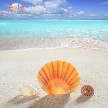 Yeele Summer Party Photocall Seaside Shell Vocation Photography Backdrops Personalized Photographic Backgrounds For Photo Studio