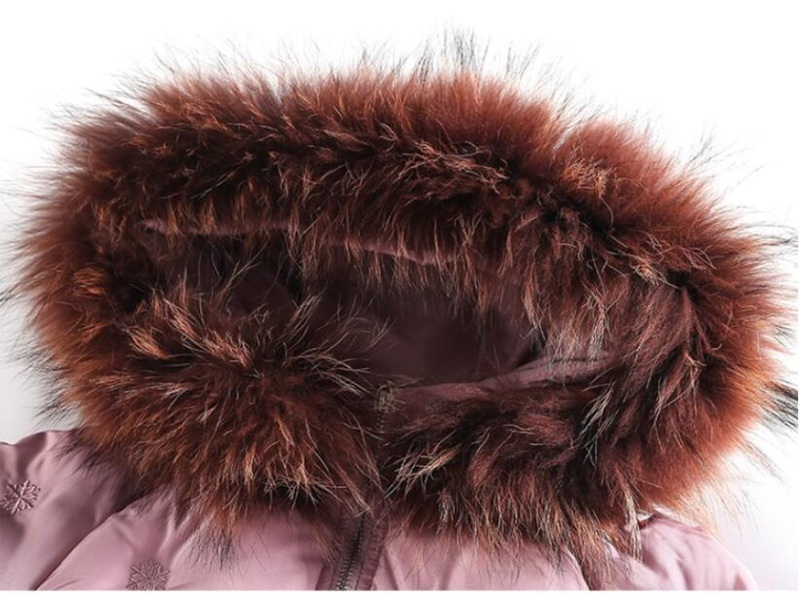 CROAL CHERIE Real Fur Outerwear & Coats Winter Jacket For Girls Children Winter Clothing Outerwear Coat Toddler Clothes (2)