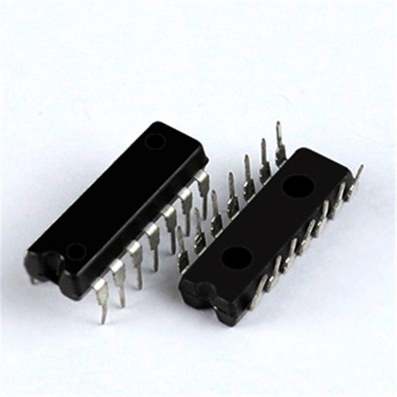 5pcs/lot SN74LS125AN HD74LS125AP 74LS125 DIP-14