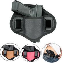 Étui pour pistolet tactique, dissimulé, ceinture droite, pince IWB, pour arme de poing universelle, Glock 17 19 20 21, Beretta