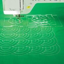 Paquete de expansión de plantilla de regla para máquina de coser # MBF 04