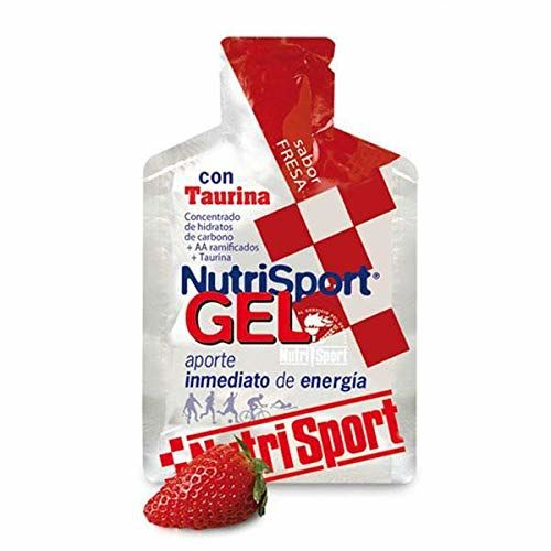Taurine Gel Strawberry Variation Nutrisport