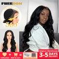 Свободу Бесплатная отрезка легкая 360 Синтетические волосы на кружеве синтетические парики для чернокожих Для женщин эффектом деграде (пере...