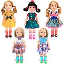 Платье принцессы для кукол wellie wishers 145 дюйма одежда Камилла