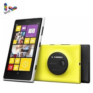 Оригинальный разблокированный мобильный телефон Nokia Lumia 1020, Windows, камера 32 ГБ, 41 МП, GPS, Wi-Fi, Экран 4,5 дюйма, Nokia L1020