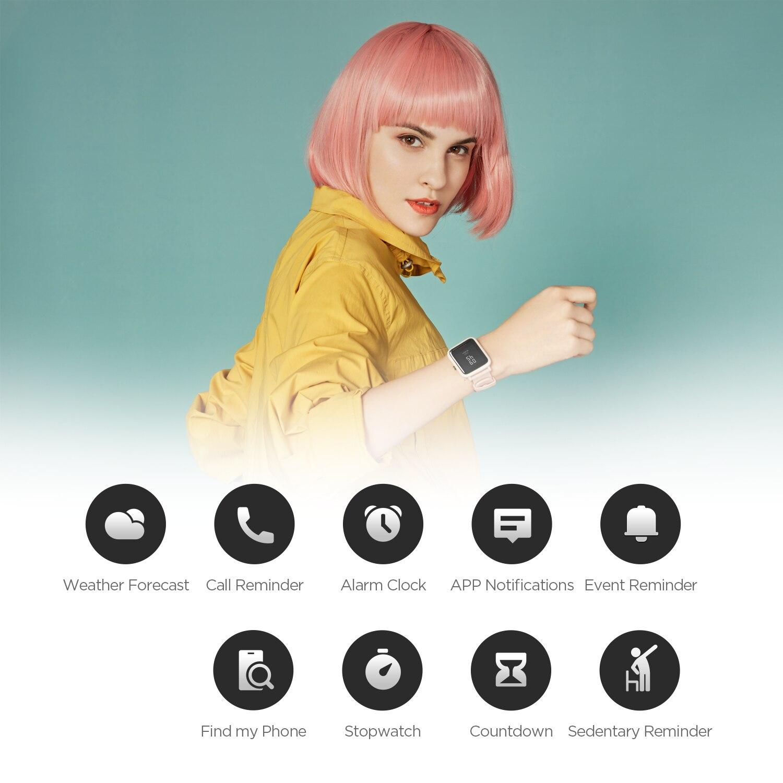 В наличии Новые 2020 глобальная версия Amazfit Bip S смарт часы 5ATM Smartwatch GPS ГЛОНАСС Bluetooth для телефона Android-4