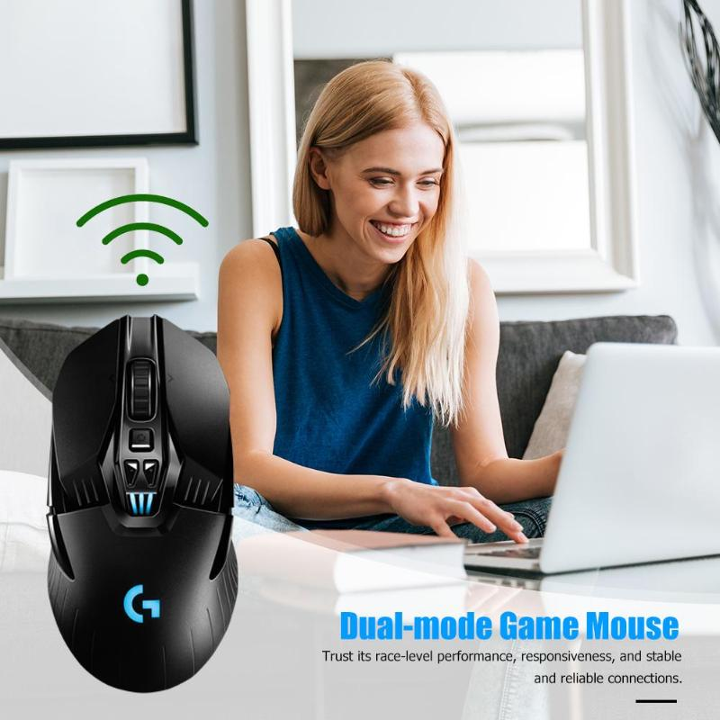 Logitech G903 LIGHTSPEED USB Wireless 16000DPI Einstellbar Gaming Maus HERO 16K Sensor Dual Modus 11 Tasten Optische Mäuse - 2