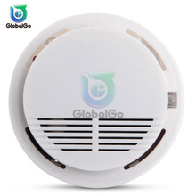 лучшая цена Independent Smoke Fire Alarm Sensitive Detector Smart Home Security Wireless Fire Smoke Detector Sensor Alarm Safety Equipment