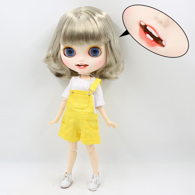 Sawyer – Premium Custom Blythe Doll with Smiling Face 1