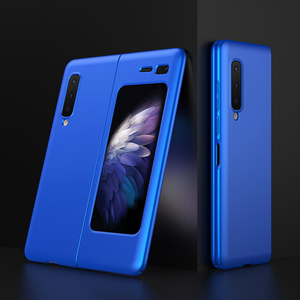Image 3 - LAPOPNUT Thin Fit Galaxy Fold Phone Case for Samsung Galaxy Fold 2019 Cover Designed Matte Black Shockproof Hybrid Hard Coque